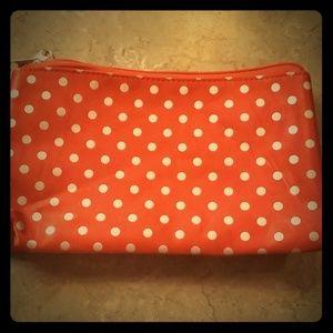 Handbags - Red Polka Dot Cosmetic bag